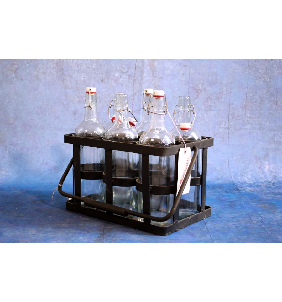 casier bouteilles vintage industriel. Black Bedroom Furniture Sets. Home Design Ideas