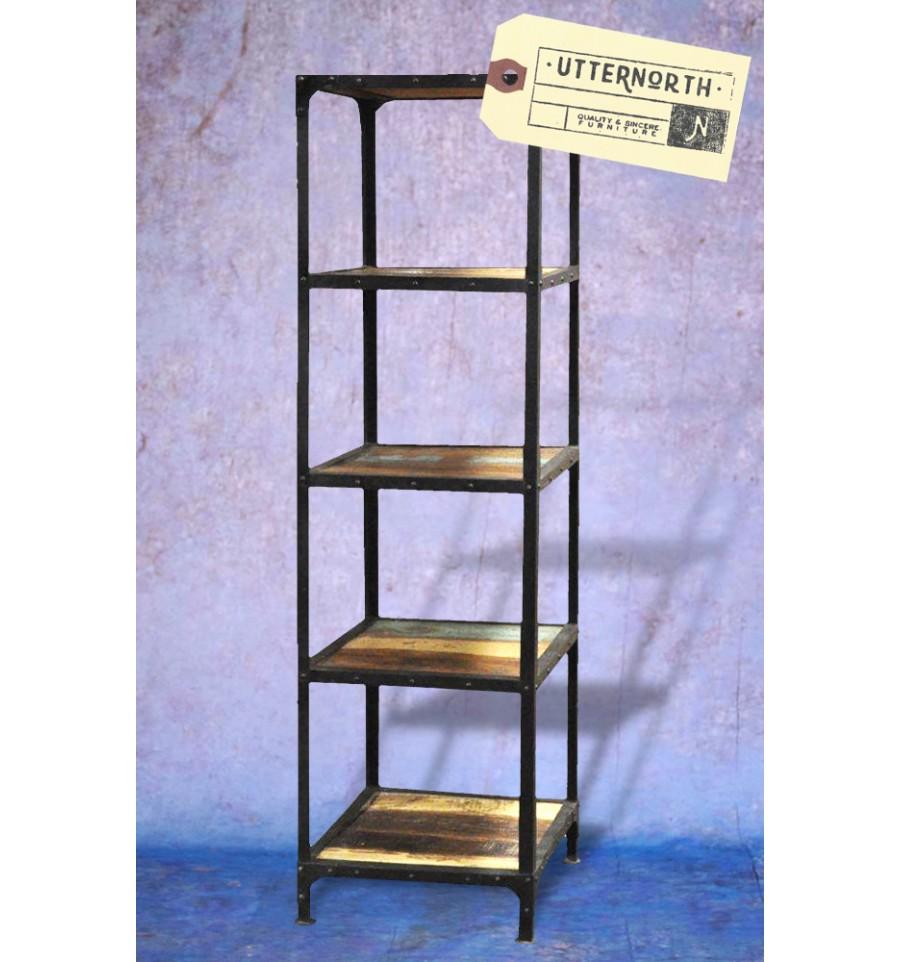 tagre acier free etagre en acier et chne with tagre acier. Black Bedroom Furniture Sets. Home Design Ideas