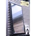 Miroir en acier riveté Vintage Industriel