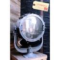 Grand Projecteur Bateau Vintage Industriel
