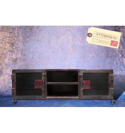 Meuble TV Vintage Industriel