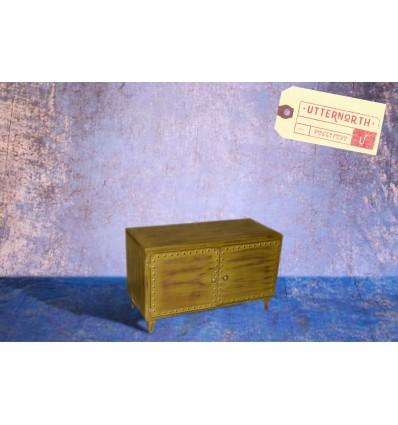 Cabinet en Acier Vintage Industriel