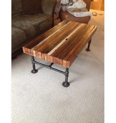 Table Basse Brute Vintage Industriel