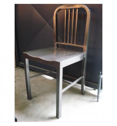 Chaise acier UBOAT 133 Vintage Industriel