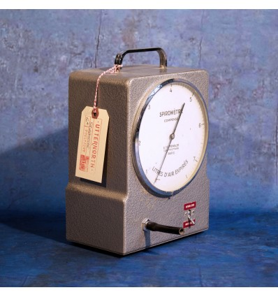 Spiromètre compensé Vintage Industriel