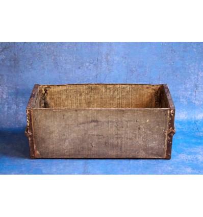 Caisse en Acier Vintage Industrial