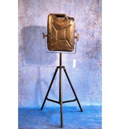 Lampadaire jerrican Vintage Industriel