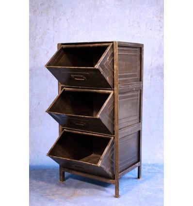 Rack 3 tiroirs