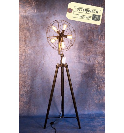 Lampadaire Ventilateur