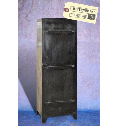 Armoire en acier 1 porte Vintage Industriel