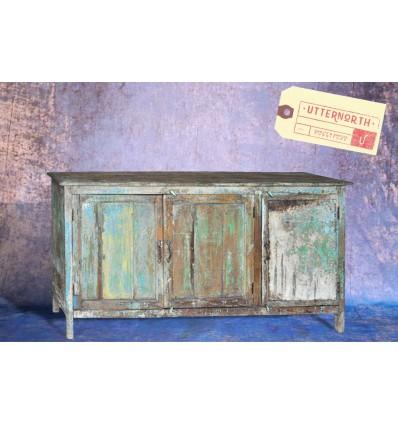 Cabinet en bois Vintage Industriel