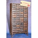 Armoire à tiroirs en acier Vintage Industriel