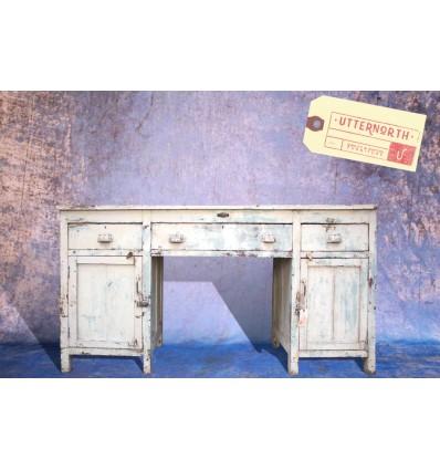 Comptoir 3 tiroirs 2 portes Vintage Industriel