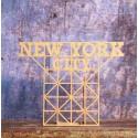 Maquette Carton Signe NYC