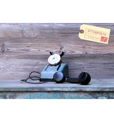 Téléphone 50' Vintage Industriel